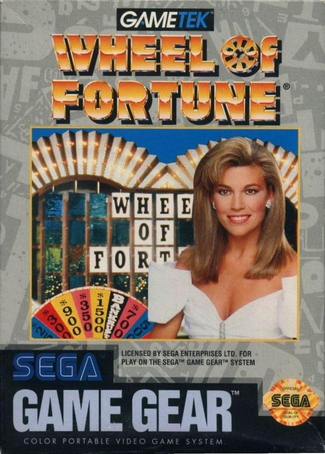 Face avant du boxart du jeu Wheel of Fortune (Etats-Unis) sur Sega Game Gear