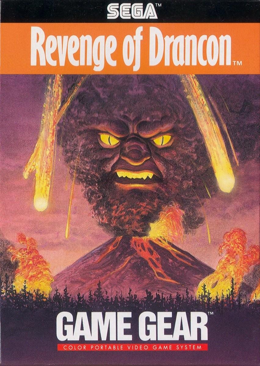 Face avant du boxart du jeu Revenge of Drancon (Etats-Unis) sur Sega Game Gear