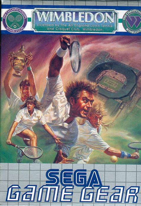 Face avant du boxart du jeu Wimbledon (Europe) sur Sega Game Gear