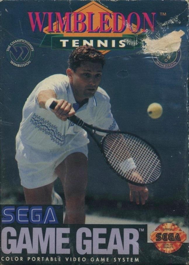 Face avant du boxart du jeu Wimbledon (Etats-Unis) sur Sega Game Gear