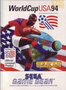 Face avant du boxart du jeu World Cup 94 (Europe) sur Sega Game Gear
