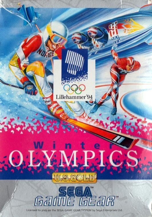 Face avant du boxart du jeu Winter Olympics - Lillehammer '94 (Europe) sur Sega Game Gear