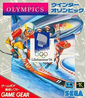 Face avant du boxart du jeu Winter Olympics - Lillehammer '94 (Japon) sur Sega Game Gear