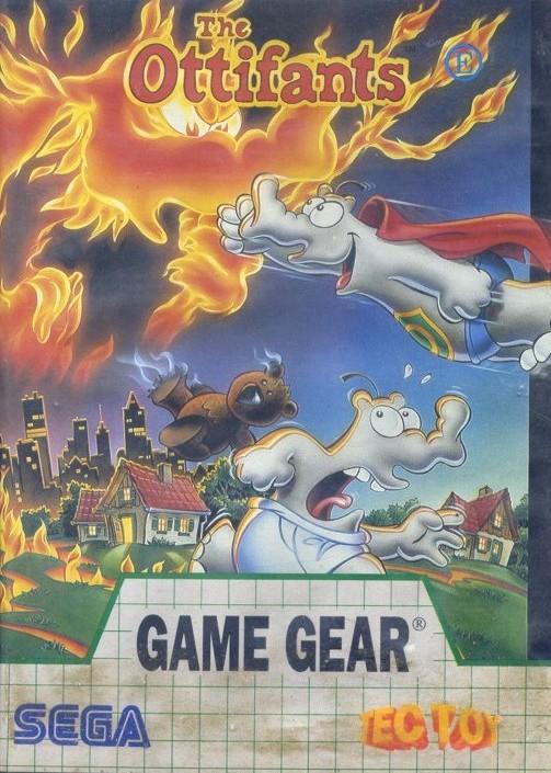 Face avant du boxart du jeu Ottifants, The (Brésil) sur Sega Game Gear