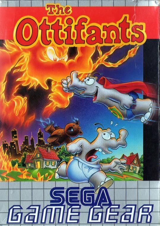 Face avant du boxart du jeu Ottifants, The (Europe) sur Sega Game Gear