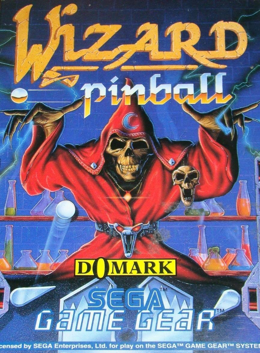 Face avant du boxart du jeu Wizard Pinball (Europe) sur Sega Game Gear