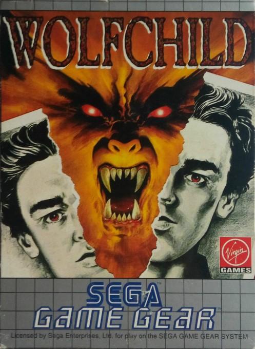 Face avant du boxart du jeu Wolfchild (Europe) sur Sega Game Gear