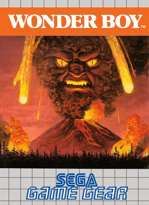Face avant du boxart du jeu Wonder Boy (Europe) sur Sega Game Gear