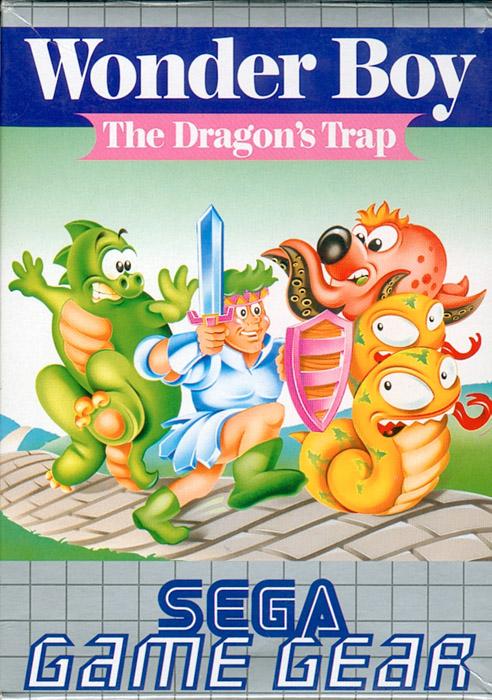 Face avant du boxart du jeu Wonder Boy - The Dragon's Trap (Europe) sur Sega Game Gear