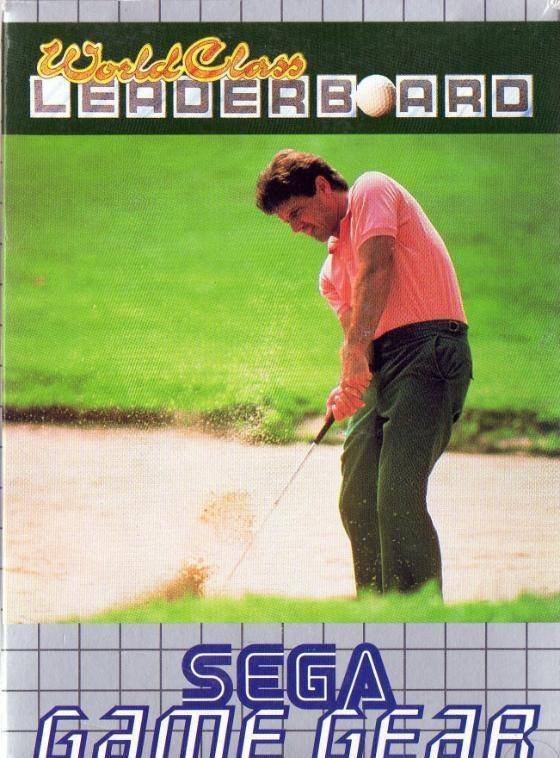 Face avant du boxart du jeu World Class Leader Golf (Europe) sur Sega Game Gear