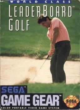 Face avant du boxart du jeu World Class Leader Golf (Etats-Unis) sur Sega Game Gear