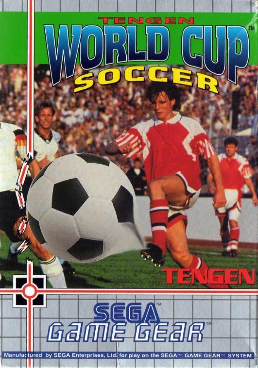 Face avant du boxart du jeu World Cup Soccer (Europe) sur Sega Game Gear