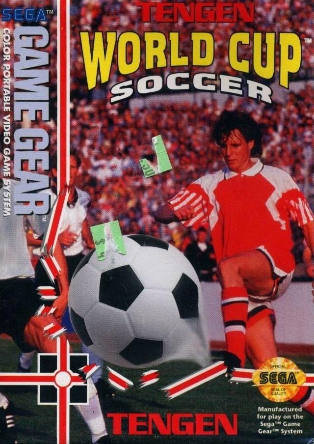 Face avant du boxart du jeu World Cup Soccer (Etats-Unis) sur Sega Game Gear