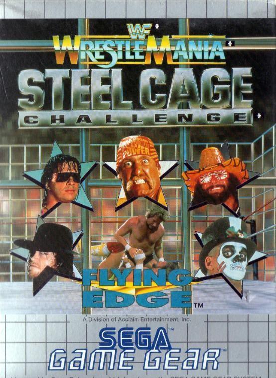 Face avant du boxart du jeu WWF Steel Cage Challenge (Europe) sur Sega Game Gear
