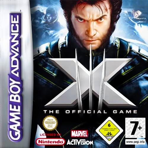 Face avant du boxart du jeu X-Men - The Official Game (Europe) sur Nintendo GameBoy Advance