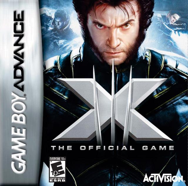 Face avant du boxart du jeu X-Men - The Official Game (Etats-Unis) sur Nintendo GameBoy Advance