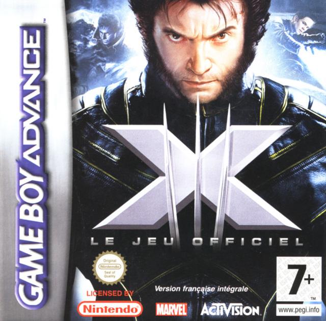 Face avant du boxart du jeu X-Men - Le Jeu Officiel (France) sur Nintendo GameBoy Advance