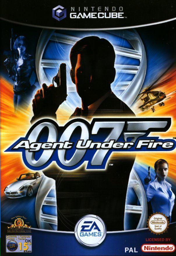 Face avant du boxart du jeu 007 - Agent Under Fire (Europe) sur Nintendo GameCube