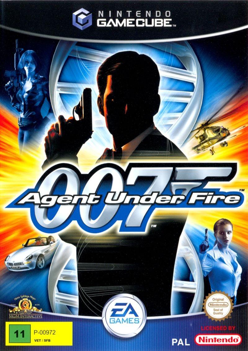 Face avant du boxart du jeu 007 - Agent Under Fire (Suède) sur Nintendo GameCube