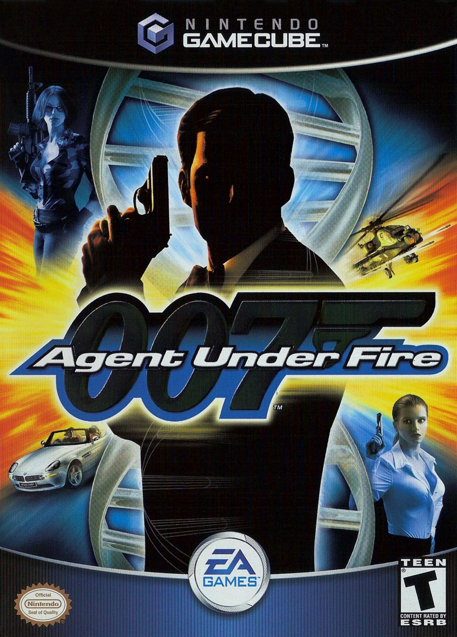 Face avant du boxart du jeu 007 - Agent Under Fire (Etats-Unis) sur Nintendo GameCube