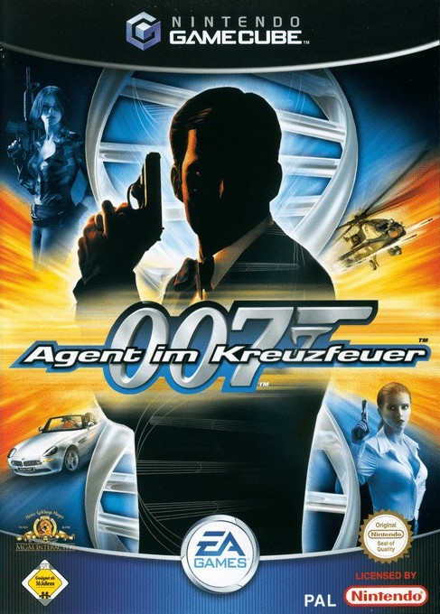 Face avant du boxart du jeu 007 - Agent im Kreuzfeuer (Allemagne) sur Nintendo GameCube