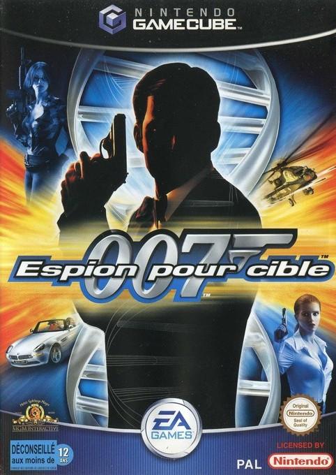 Face avant du boxart du jeu 007 - Espion pour Cible (France) sur Nintendo GameCube