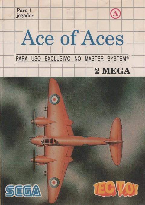 Face avant du boxart du jeu Ace of Aces (Brésil) sur Sega Master System