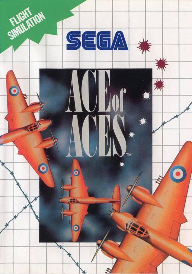 Face avant du boxart du jeu Ace of Aces (Europe) sur Sega Master System