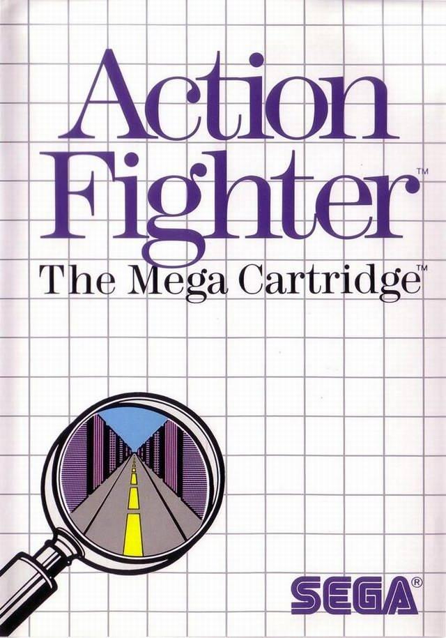 Face avant du boxart du jeu Action Fighter (Europe) sur Sega Master System