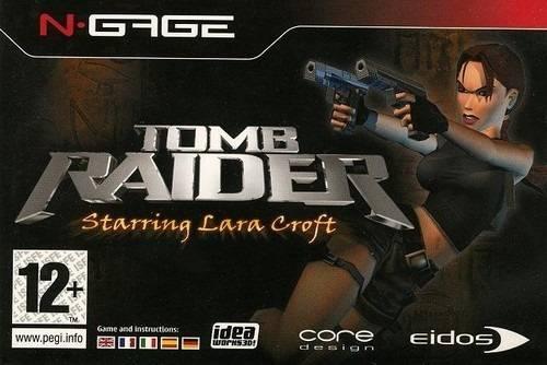 Face avant du boxart du jeu Tomb Raider (Europe) sur Nokia N-Gage