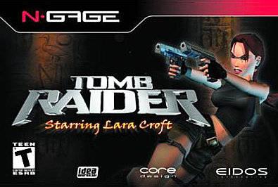 Face avant du boxart du jeu Tomb Raider (Etats-Unis) sur Nokia N-Gage