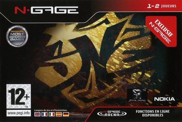 Face avant du boxart du jeu One (Europe) sur Nokia N-Gage