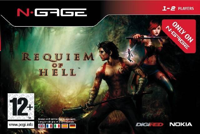 Face avant du boxart du jeu Requiem of Hell (Europe) sur Nokia N-Gage
