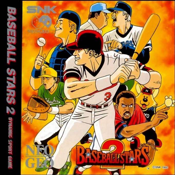 Face avant du boxart du jeu Baseball Stars 2 sur SNK NeoGeo CD