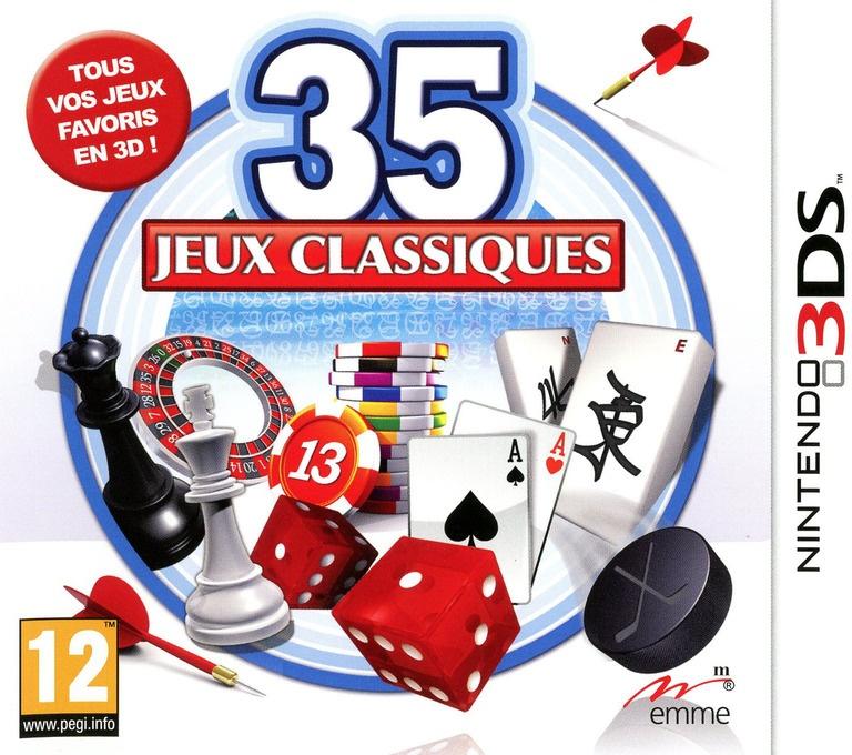 Face avant du boxart du jeu 50 Classic Games (France) sur Nintendo 3DS