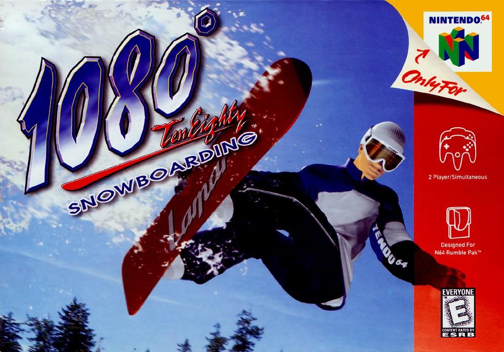 Face avant du boxart du jeu 1080 Snowboarding (Etats-Unis) sur Nintendo 64