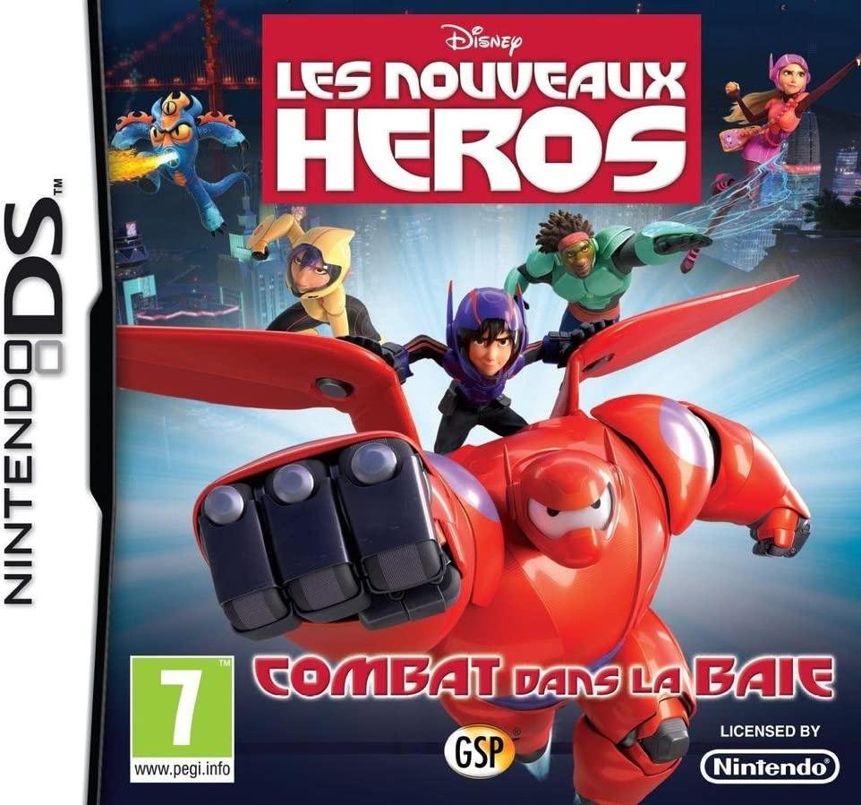 Face avant du boxart du jeu Nouveaux Héros, Les - Combat dans la Baie (France) sur Nintendo DS
