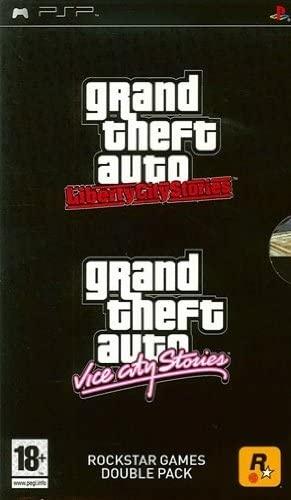 Face avant du boxart du jeu Grand Theft Auto Vice City Stories + Midnight Club 3 DUB Edition (Europe) sur Sony PSP