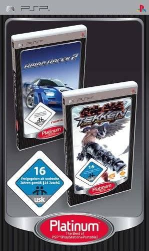 Face avant du boxart du jeu Tekken - Dark Resurrection / Ridge Racer 2 (Europe) sur Sony PSP