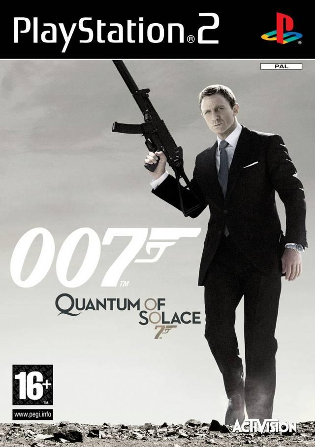 Face avant du boxart du jeu 007 - Quantum of Solace (Europe) sur Sony Playstation 2