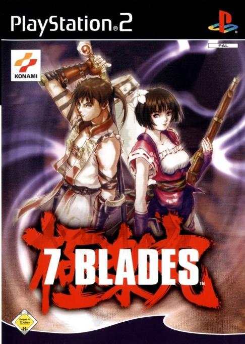 Face avant du boxart du jeu 7 Blades (Allemagne) sur Sony Playstation 2