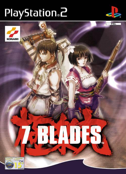 Face avant du boxart du jeu 7 Blades (Europe) sur Sony Playstation 2