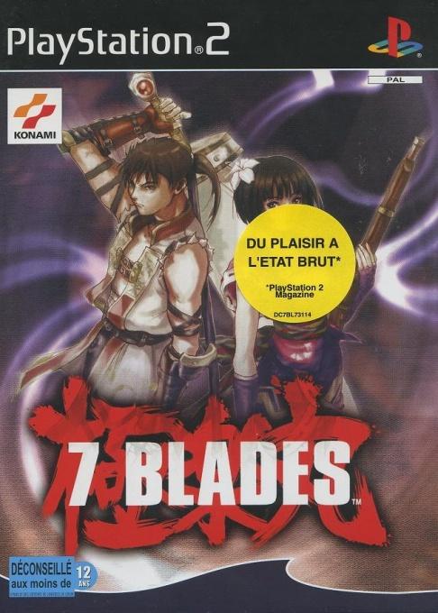 Face avant du boxart du jeu 7 Blades (France) sur Sony Playstation 2