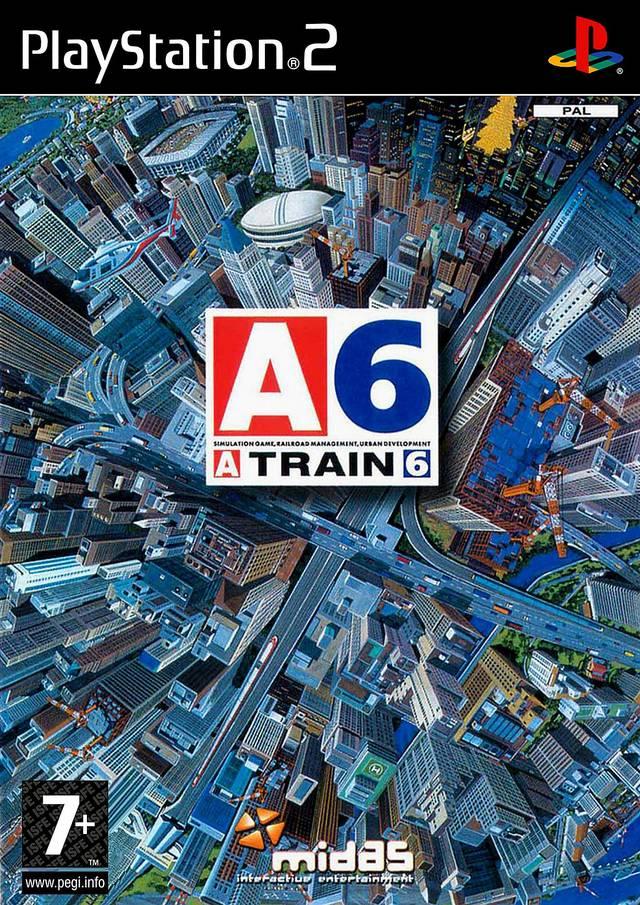 Face avant du boxart du jeu A-Train 6 (Europe) sur Sony Playstation 2