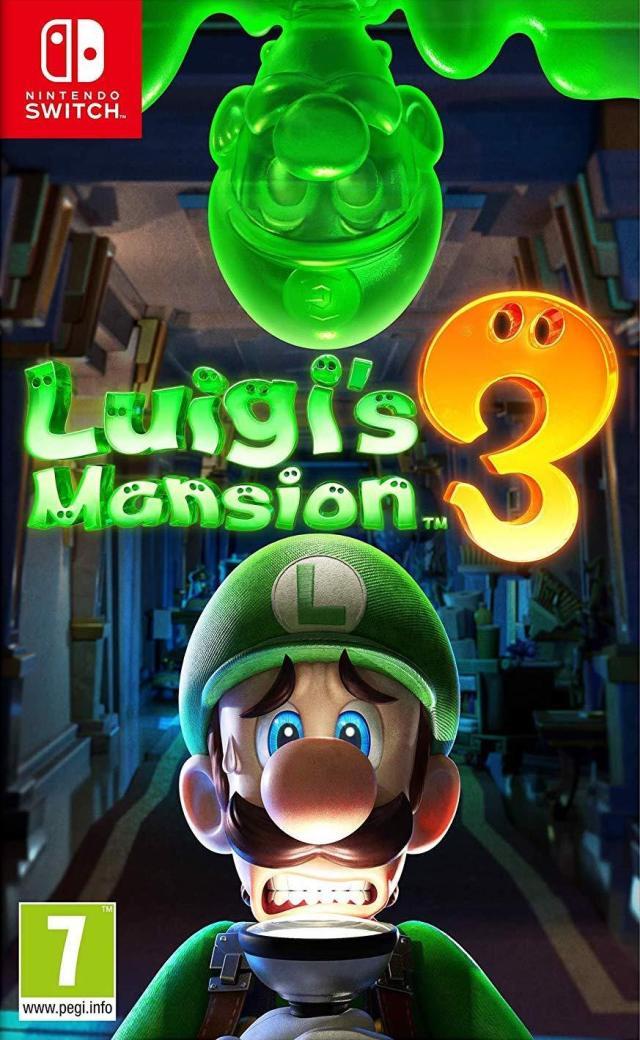 Face avant du boxart du jeu Luigi's Mansion 3 (Europe) sur Switch
