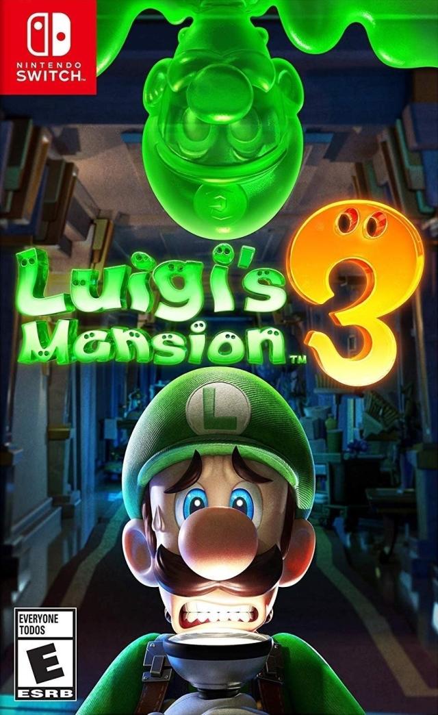 Face avant du boxart du jeu Luigi's Mansion 3 (Etats-Unis) sur Switch