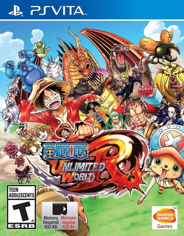 Face avant du boxart du jeu One Piece - Unlimited World Red (Etats-Unis) sur Sony PS Vita