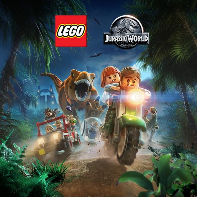 Face avant du boxart du jeu LEGO Jurassic World (Etats-Unis) sur Sony PS Vita