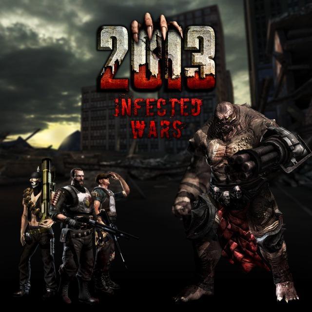 Face avant du boxart du jeu 2013 - Infected Wars (Etats-Unis) sur Sony PS Vita