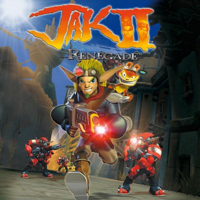 Face avant du boxart du jeu Jak II HD (Europe) sur Sony PS Vita